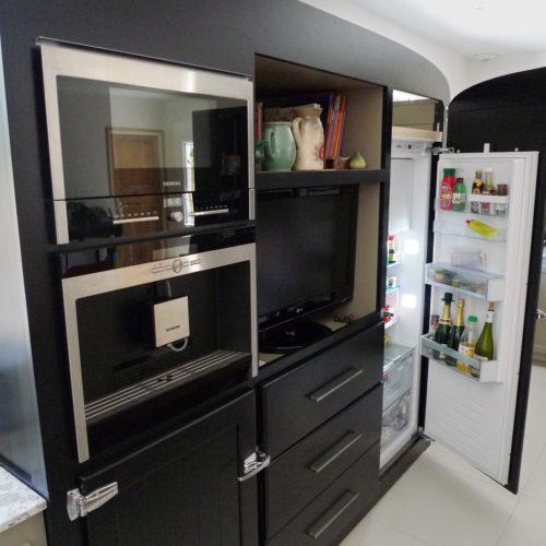 Ateliers JOVIS : Cuisine avec comptoir Zinc et Glacière