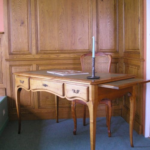 Fabrice MIRAULT : Bureau merisier