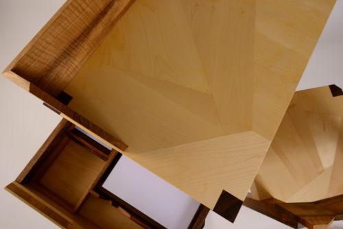Joseph VALLON – Atelier de l'Ebeniste : Ensemble d'un bureau et de sa chaise